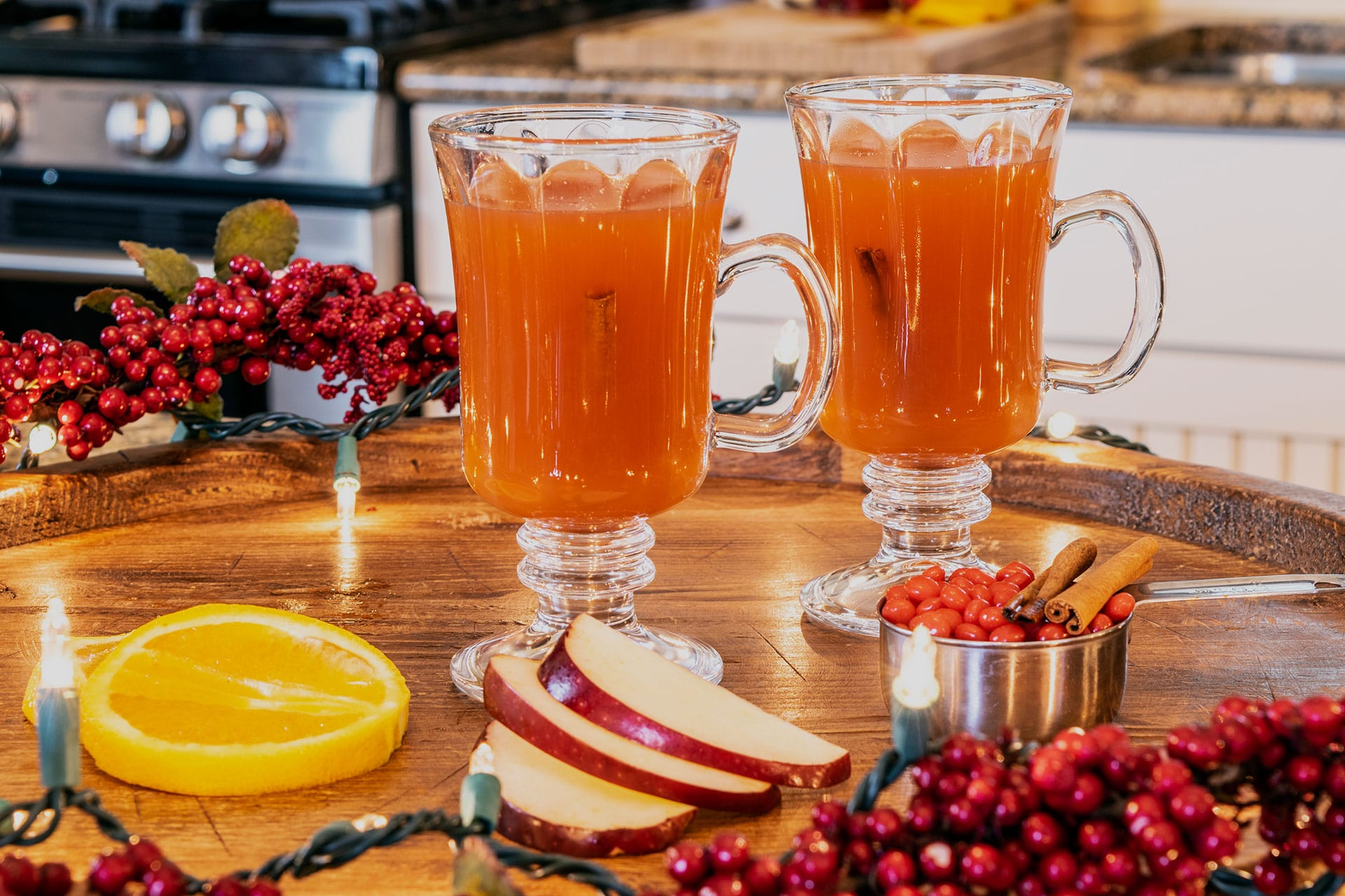 Easy Stove-top Spiced Cider Drink